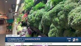 Historic Greenwood church, volunteers grow produce garden to combat hunger