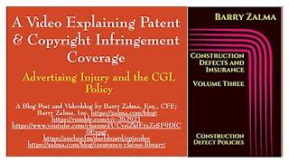 A Video Explaining Patent & Copyright Infringement Coverage