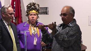 Stolen piece of history returned to Seneca Nation