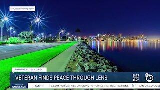 Veteran finds peace through camera lens