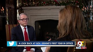 Governor Mike DeWine's thoughts on his first year in office