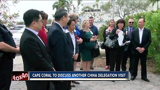Cape Coral to discuss another China delegation visit