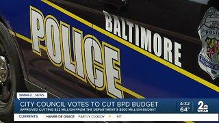 City Council votes to cut BPD budget