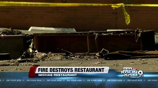 Iconic south Tucson restaurant destroyed in fire