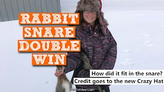S2:E38 Rabbit Snare Double Win   Kids Outdoors