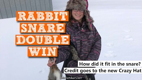 S2:E38 Rabbit Snare Double Win | Kids Outdoors