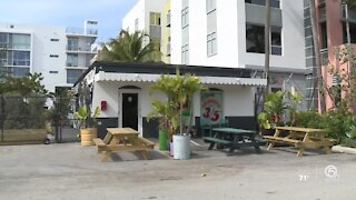 Delray Beach bar reopens for first time since March