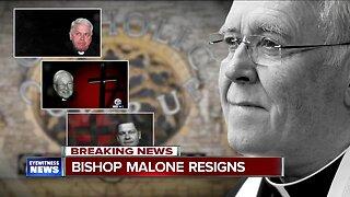 Buffalo Catholic Diocese Bishop Richard Malone resigns