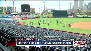 Keeping kids safe during summer sports