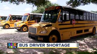 Polk County bus driver shortage could cause delays as new school year begins