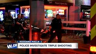 Triple shooting in Niagara Falls
