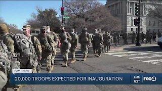 Inauguration Day preparation