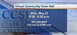 Virtual community town hall