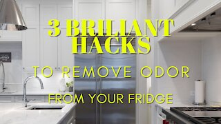 3 Brilliant Hacks to Remove Odour From Your Fridge