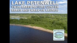 Twin Lakes Nature Center Beach & Walk-in Launch on Lake Petenwell VIDEO TOUR - Landman Realty LLC