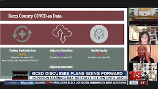 BCSD discusses plans as the county moves back in tiers
