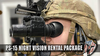 Night Optic Device Rental for Low Light/No Light Course of Fire
