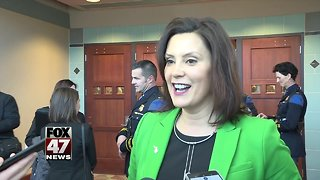 Whitmer says she won't sign budget without road funding