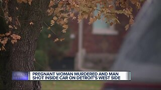 Pregnant woman, 24, shot and killed on Detroit's west side