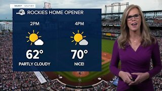 Warmup ahead- opening day forecast!