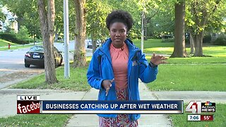 Weather-dependent businesses feeling impact of rainfall