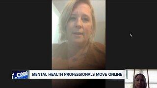 Mental health professionals move online