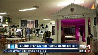 Purple Heart exhibit opens in Cape Coral museum