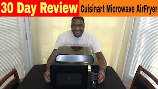 Cuisinart Air Fryer Oven Microwave Combo, 30 Day Review