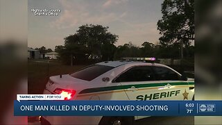 Man shot, killed by deputies after domestic dispute call in Highlands County