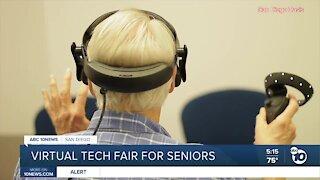 Virtual tech fair held for San Diego senior