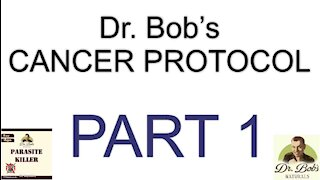 Cancer Protocol Part 1 - Disinfect the Blood