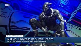 Marvel Exhibit Honors Boseman