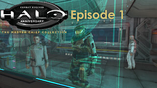 Halo Combat Evolved Anniversary Campaign MCC PC Gameplay Episode 1 - Pillar of Autumn