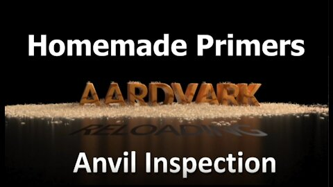Homemade Primers - Anvil Inspection