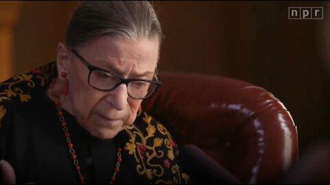 FLASHBACK: Ruth Bader Ginsburg EXCORIATED Court Packing Schemes