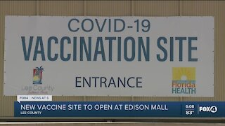 Lee County vaccination site moved today