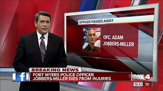 Fort Myers Police Officer Jobbers-Miller dies from injuries