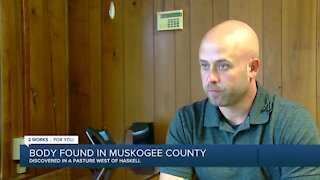 Body Found in Muskogee County