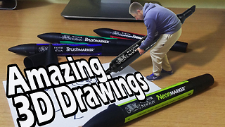 Mind-blowing compilation of 3D anamorphic artwork