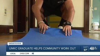 UMKC graduate helps community work out