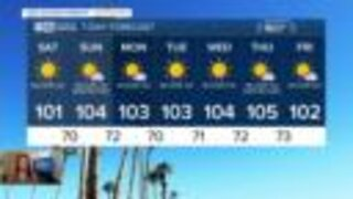 FORECAST: Excessive Heat Warning in effect Sunday, Record heat likely