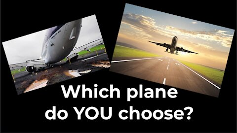 Dr GV: Which Plane Do You Choose?
