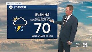 Rain expected Thursday