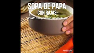 Potato Soup with Rajas