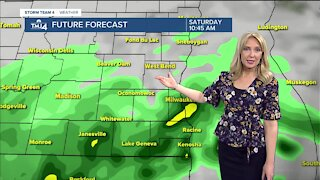 Up to 1 inch of new rain is possible Saturday