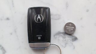 Acura Key Fob Battery replacement