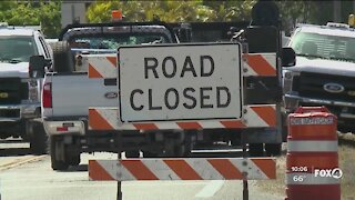 Danley Drive closed at Metro Parkway