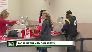 Don't Waste Your Money: Most returned gift items