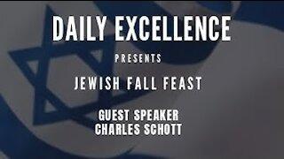 Jewish Fall Feast 2020 Guest Speaker Charles Schott
