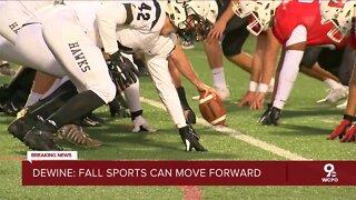 Ohio high school football gets the green light